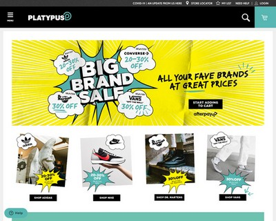 Big Brand Sale At Platypus Shoes - Platypus Shoes